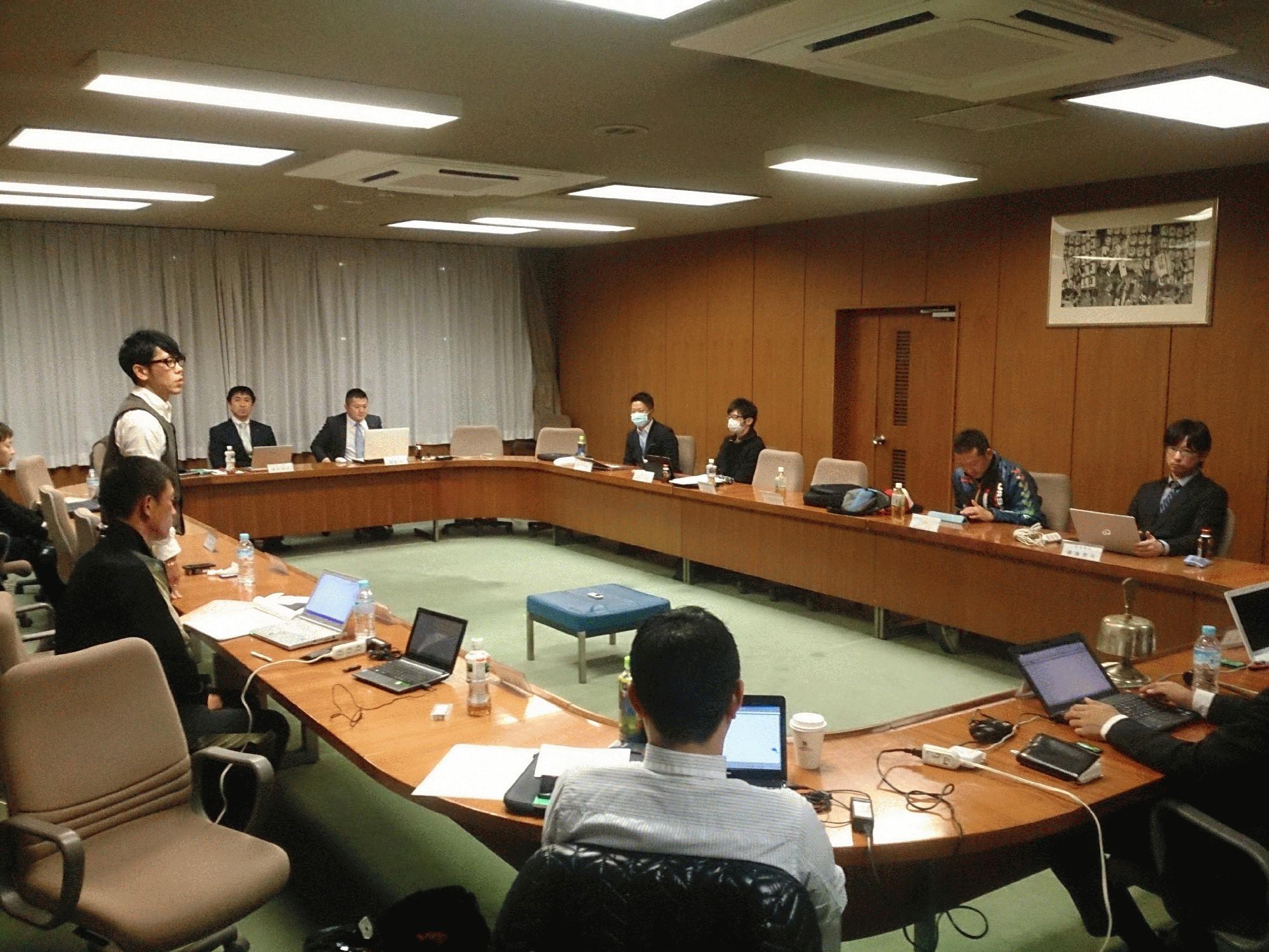 2014年度最後の理事会が開催されました。