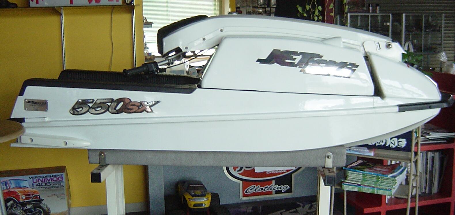 *カワサキ*JS550SX*展示品 お譲りします 未登録艇