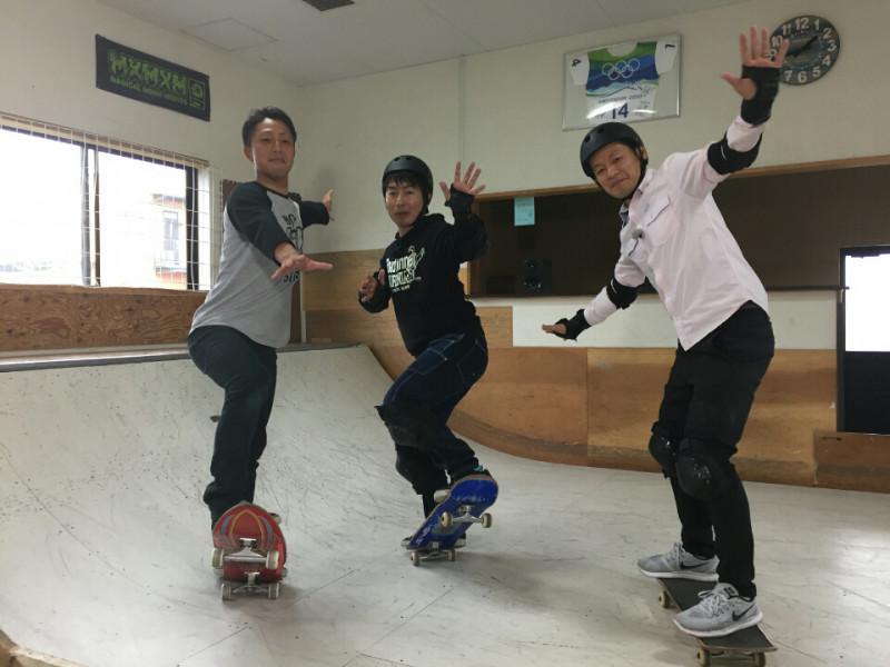 オッシースケートパークにて・・キッズ★スケートボード★ ビギナースクール開校中!!!