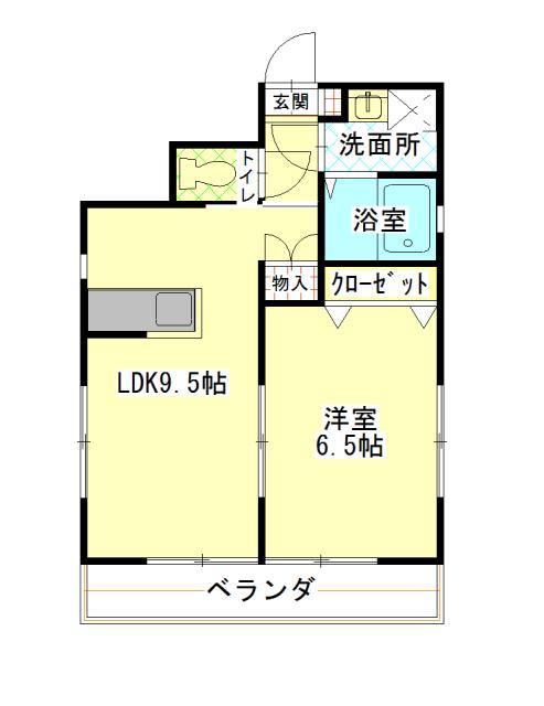 メゾン・ド・カリヨン101室