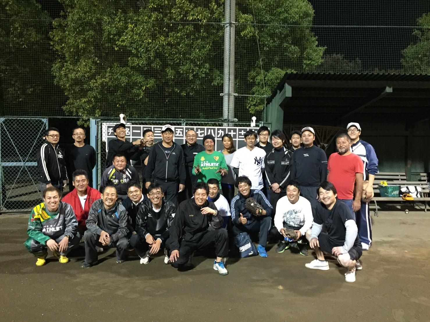 小山YEG親睦ソフトボール大会