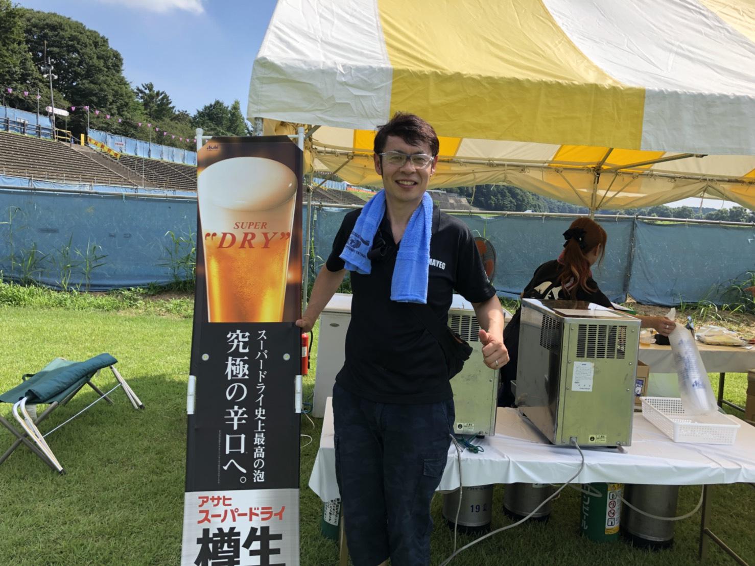 小山サマーフェスティバルに参加しました