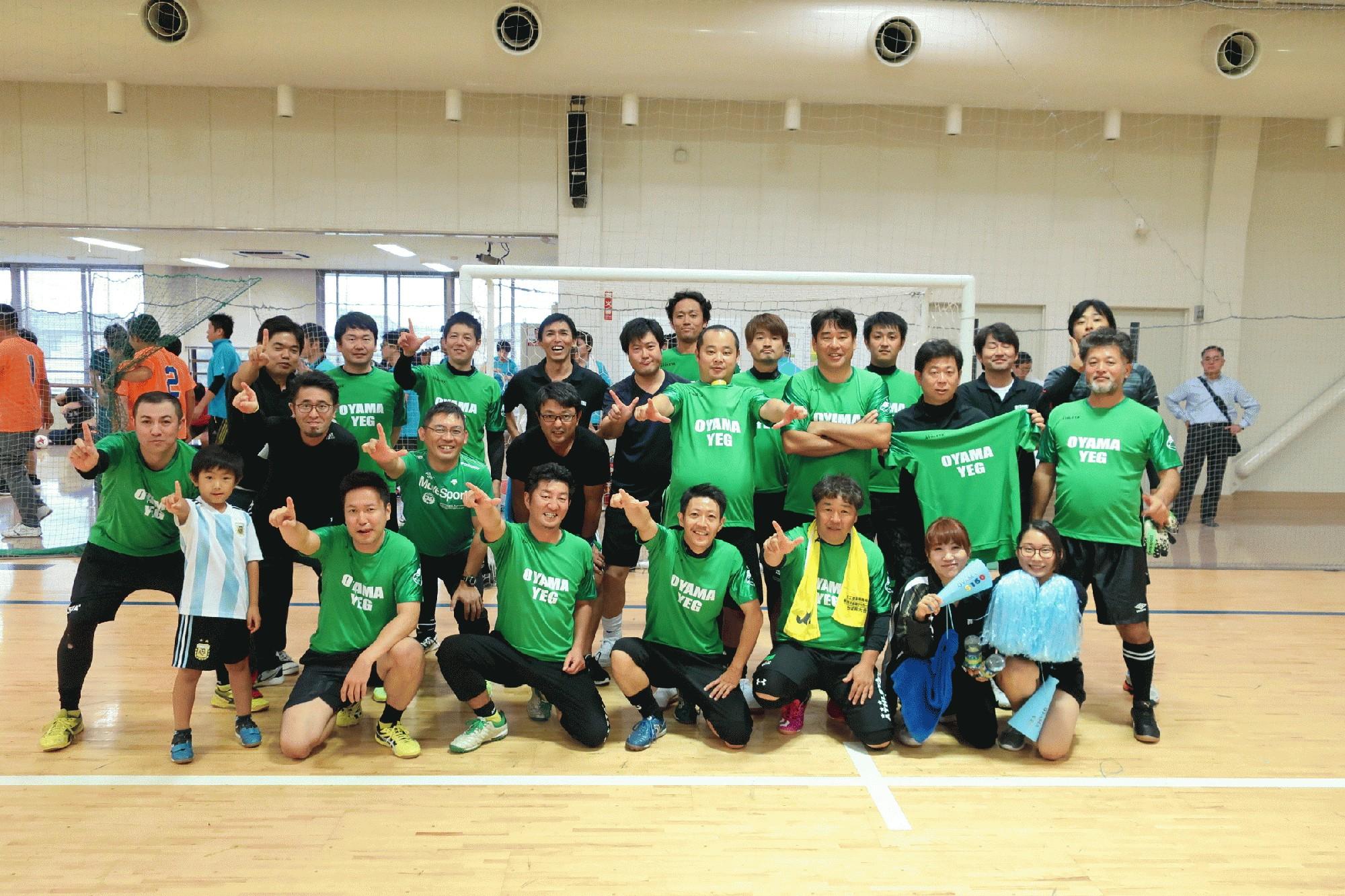 栃木県青連フットサル大会に参加しました