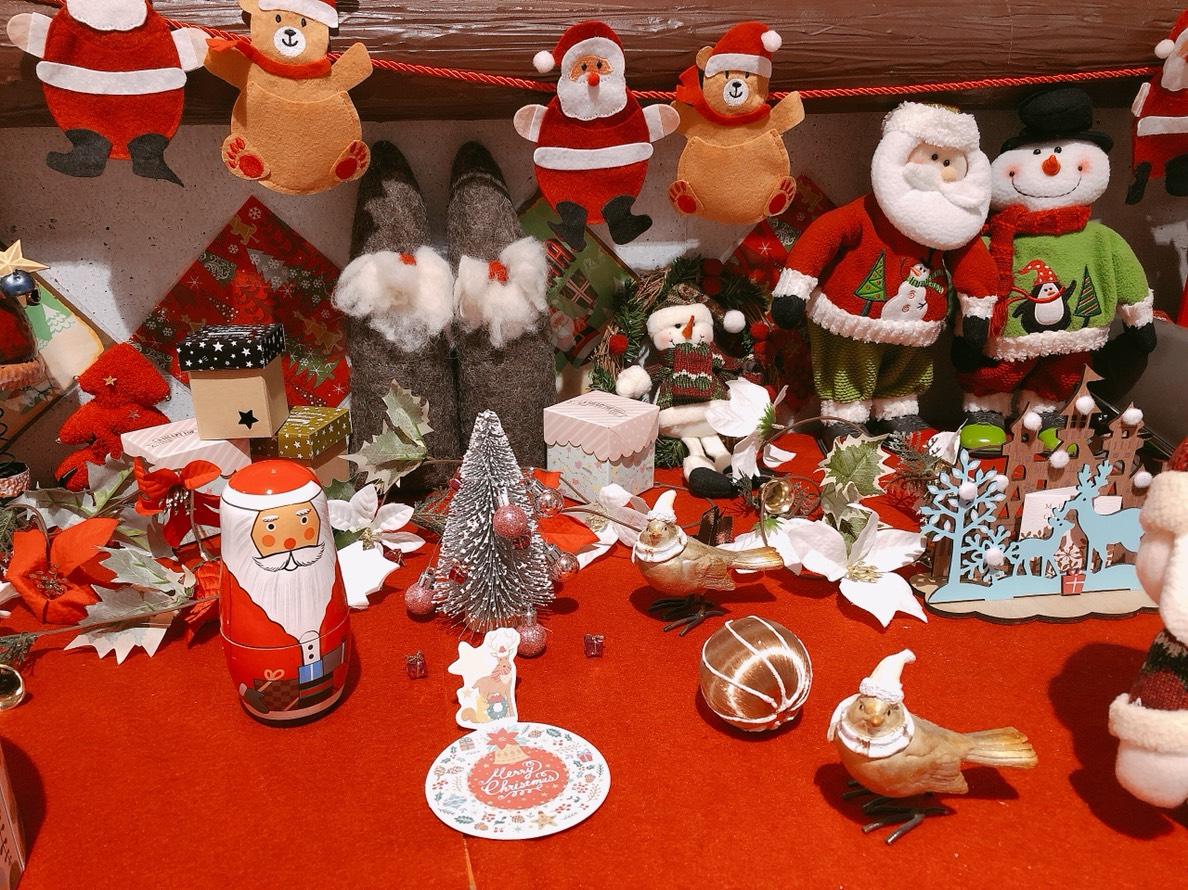 クリスマス飾り賑やかです♪♪