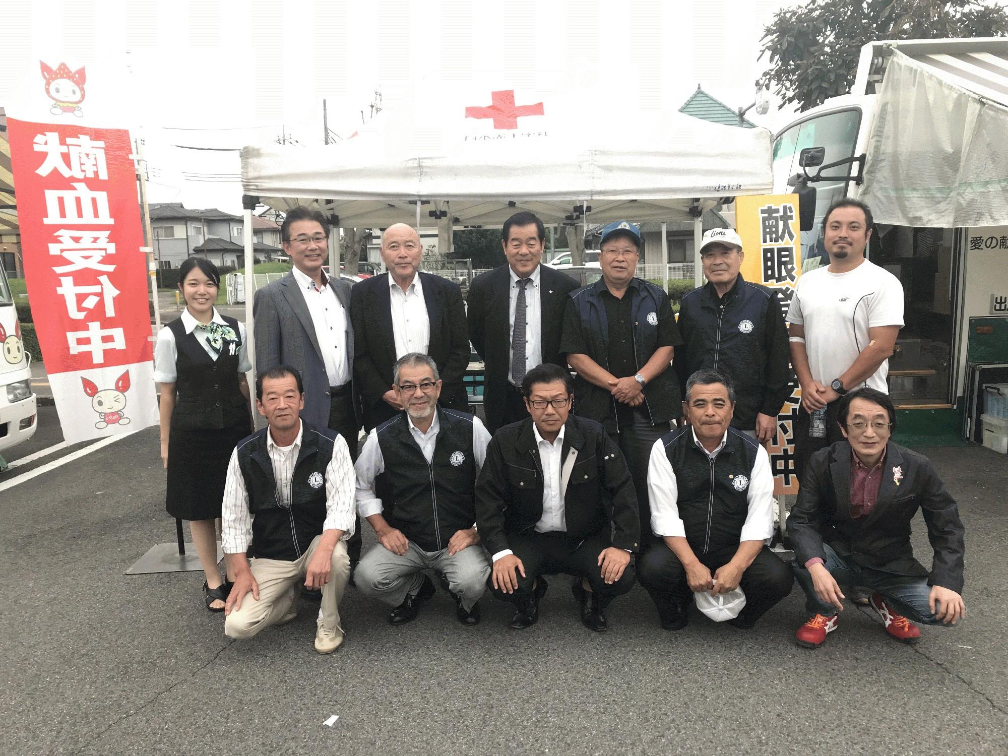 2018-10-4  献血活動INかましん自治医大