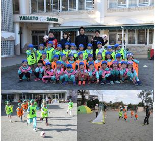 スポーツ大好き!小野寺選手サッカー教室