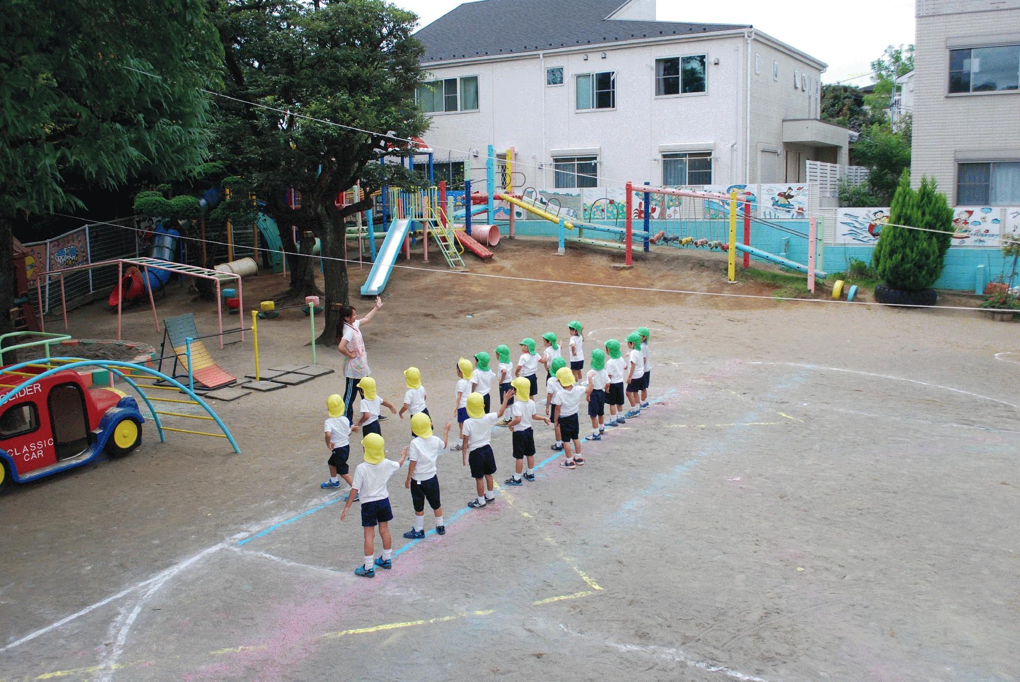 9月19日(火)年少中組の運動会総練習