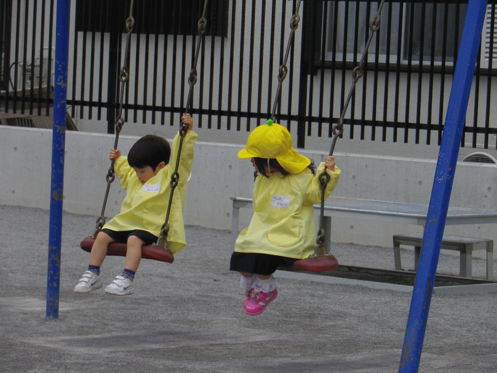 来年度満三歳児学年ひよこ組の新入園について