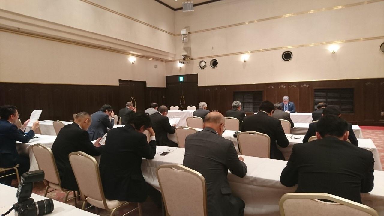 小山商工会議所青年部OB会総会が開催されました。