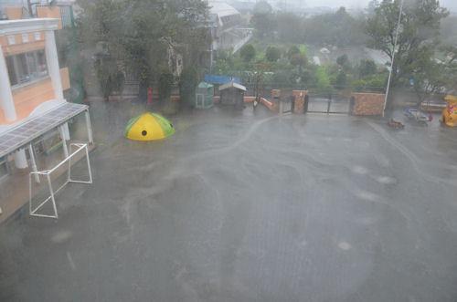 台風19号、関東に上陸