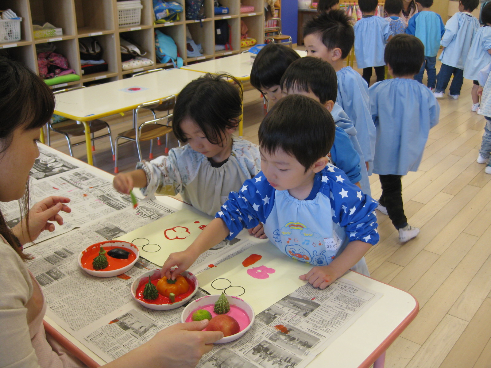 満3歳児学年(4年保育)の入園願書受付について